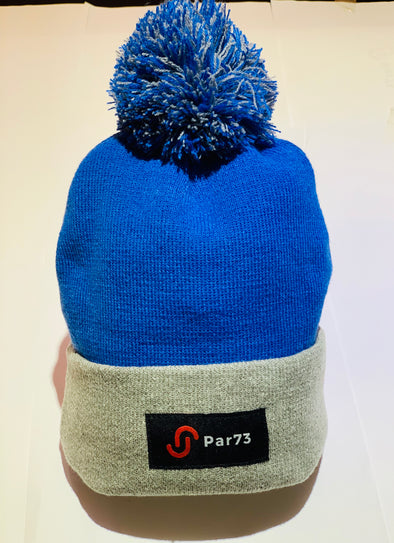 Par73 Apparel Winter Beanie - Blue & Grey