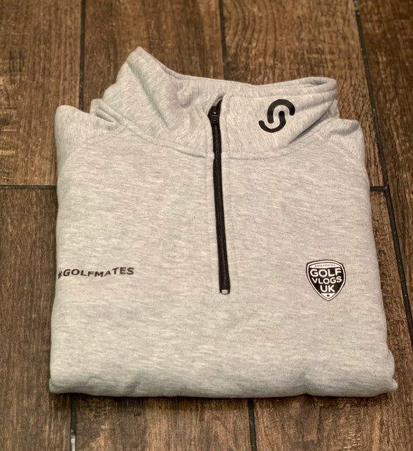 #Golfmates 1/4 zip sweater