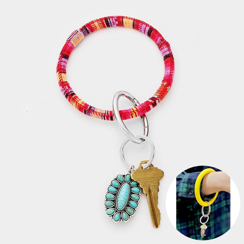 Midwestern Key Ring Bracelet - Boutique 1780