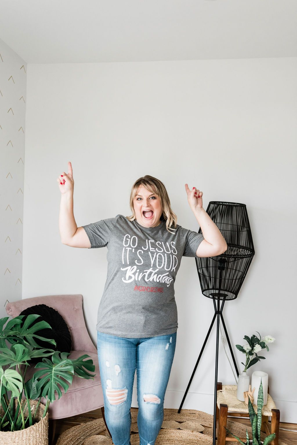 Go Jesus, It's Your Birthday Graphic Tee - Boutique 1780