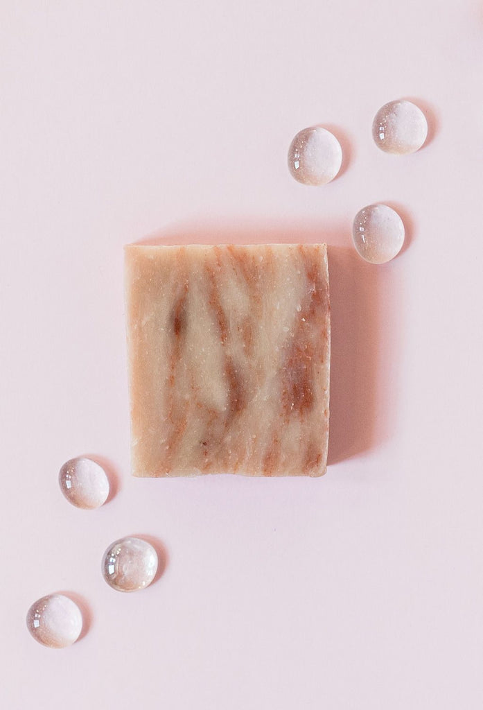 Handcrafted Cherry Almond Soap & Shampoo Bar
