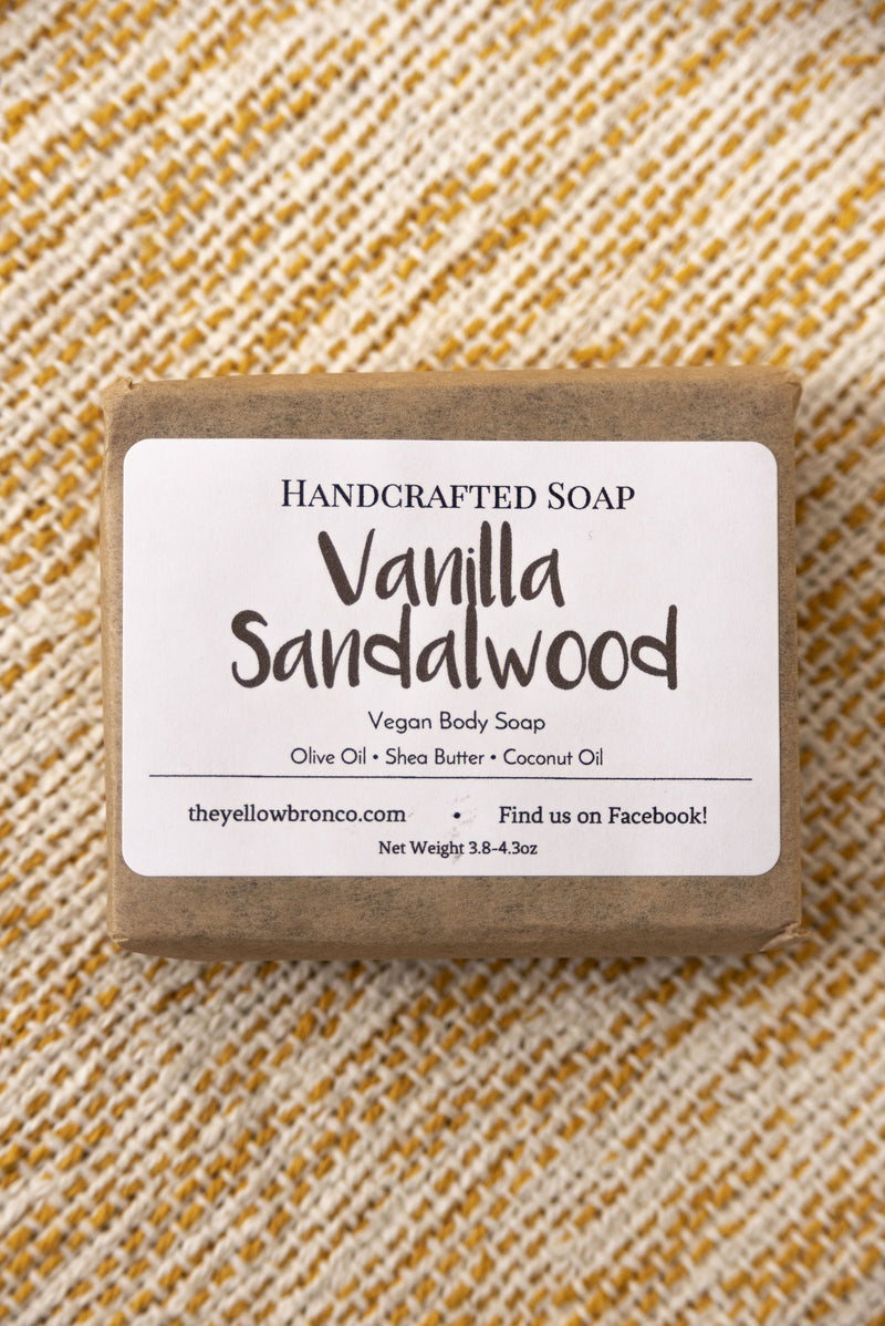 Handcrafted Vanilla Sandalwood Soap - Boutique 1780