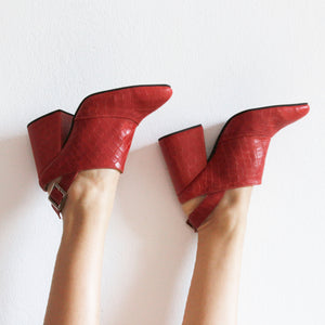 Botas Margot Rojo