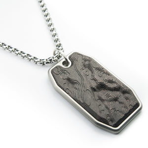Carbon fiber dog tag