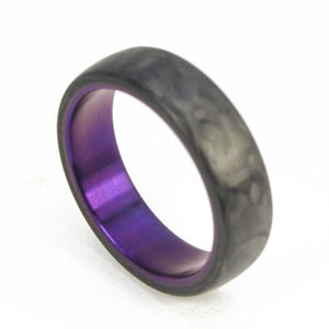 CF Minimalist Ring | PurpleTi