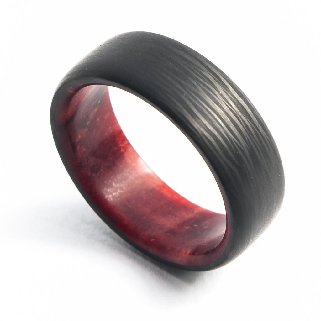 Redwood Minimalist Ring