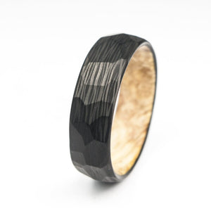 carbon fiber wood ring, cotodesign, carbon fiber ring, maple ring, stabilized wood ring