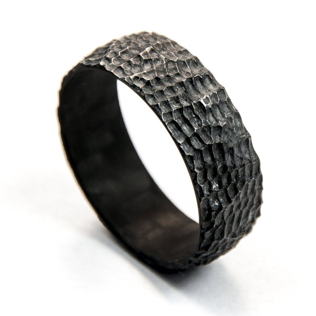 Carbon fiber ring, carved ring, carved carbon fiber