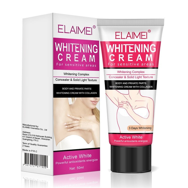 Pure Intimate Whitening Crème - Weg met donkere oksels!