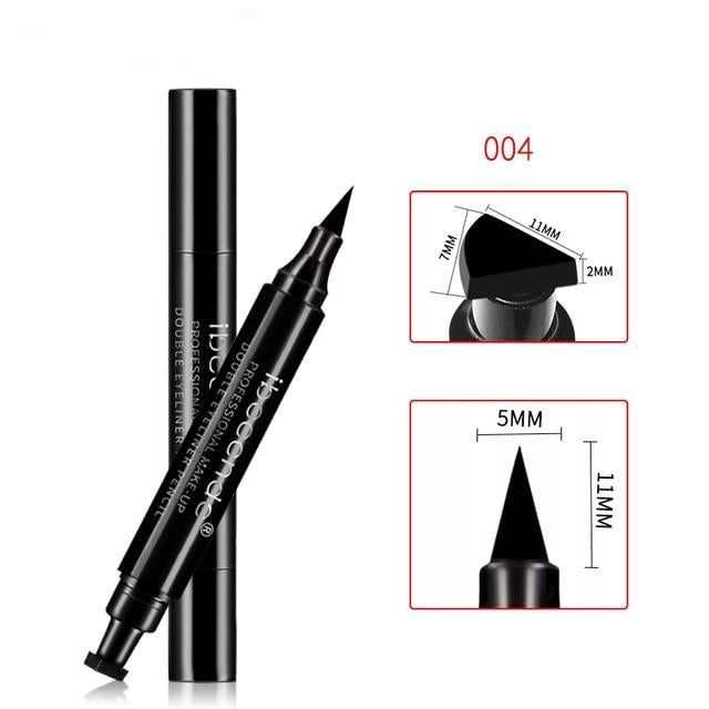 3-in-1 Eyeliner | Angle Brush + Vamp Stamp | Waterproof