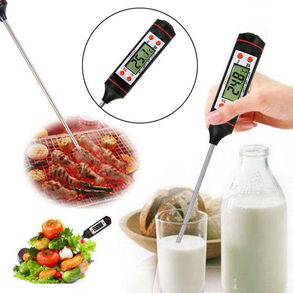 Universele Digitale Voedselthermometer | Voor o.a. Vlees & BBQ!