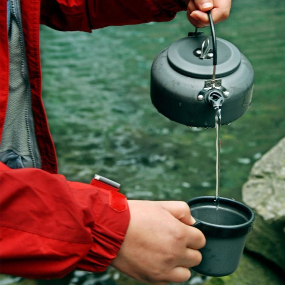 Jet Black Camping Coffee Pot - Camp Coffee Co.
