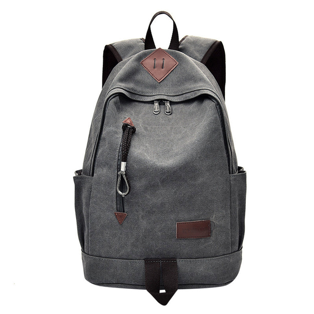 Canvas Travel Backpack - Camp Coffee Co.