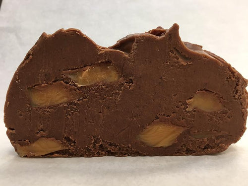 Carmel Chocolate Mudslide Fudge