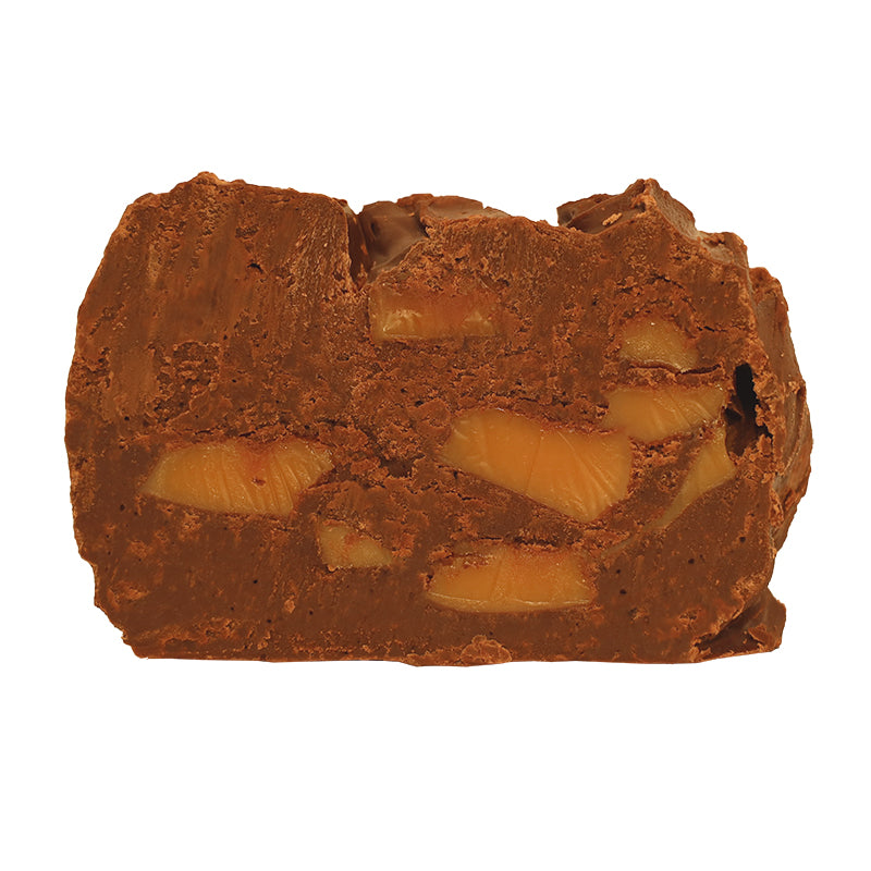 Dark Sea Salt Caramel Fudge