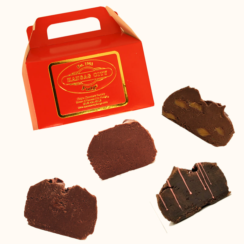 Kansas City Fudge Assortment (2lbs) - Best Sellers