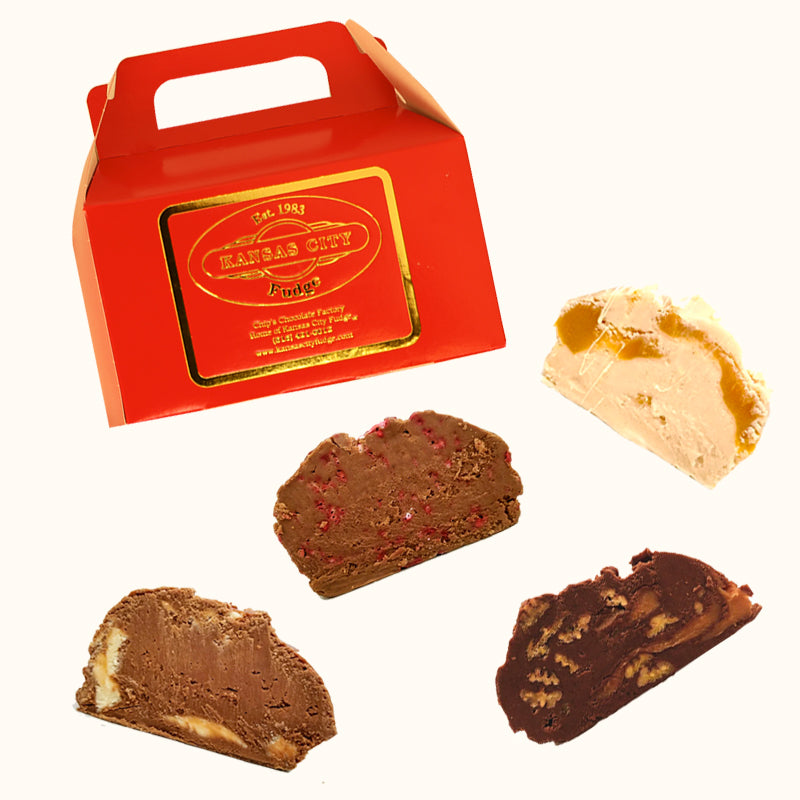 Kansas City Fudge Assortment (2lbs) - Holiday Season Favorites