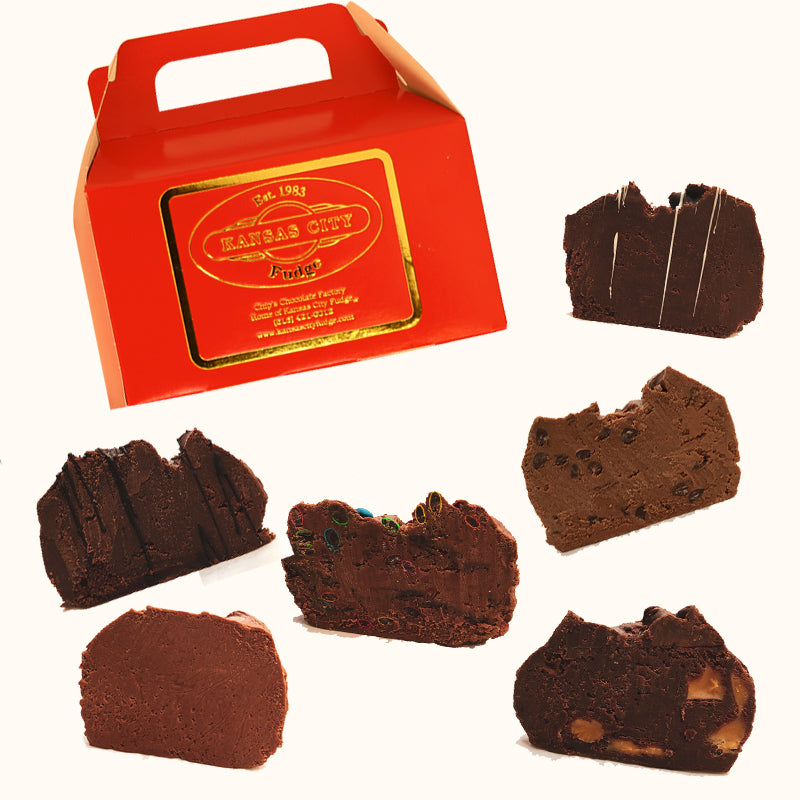 Kansas City Fudge Collection (3lbs) - Chocolate Lovers