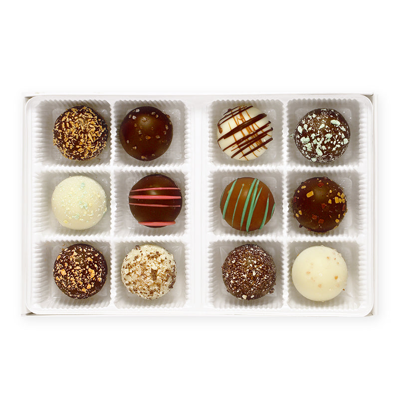 Handmade Truffles (Box of 12) - Pick Your Own Flavors