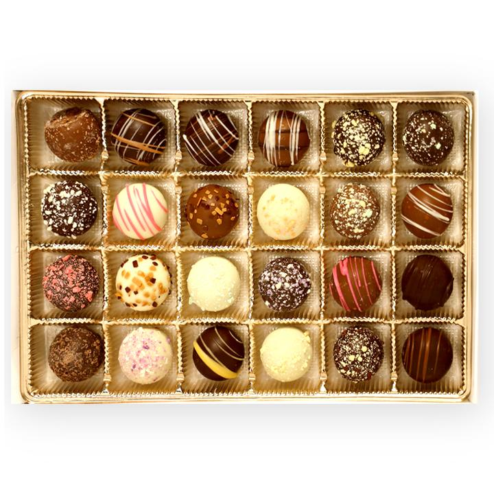 Truffles (Box of 24) - Chip's Special Assortment (Best Sellers)