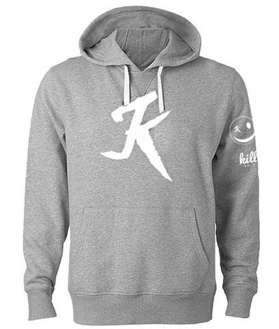 K hoodie heather grey