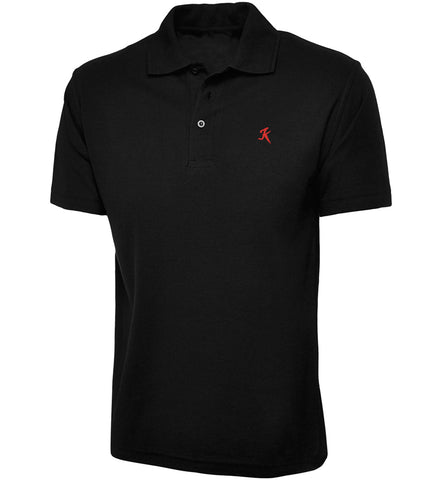 Polo K black/red