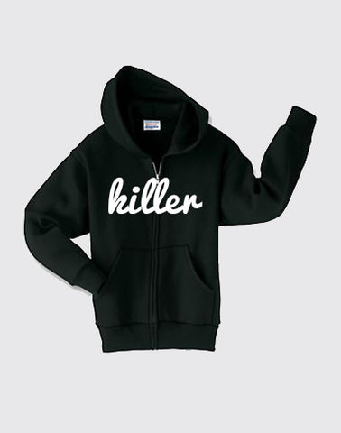 Classic zipper-hoodie for kids
