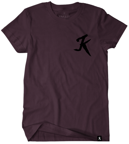 K icon maroon<br>(New)