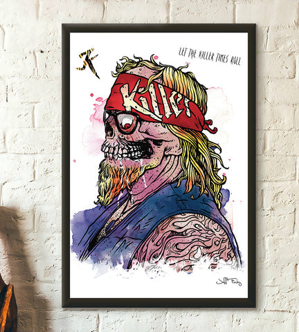 Let The Killer Times Roll poster