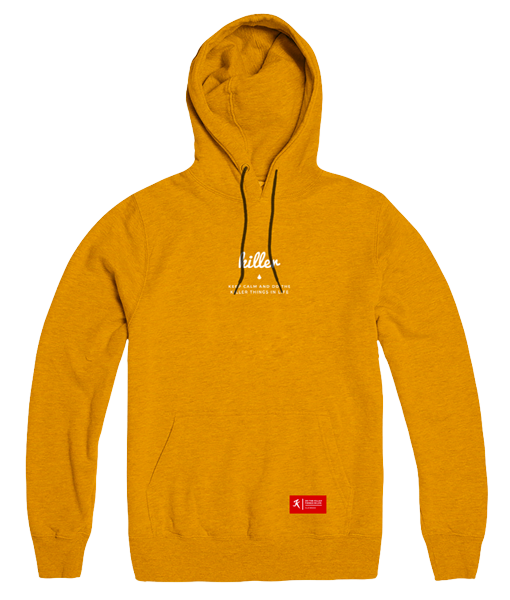 Basic hoodie orange