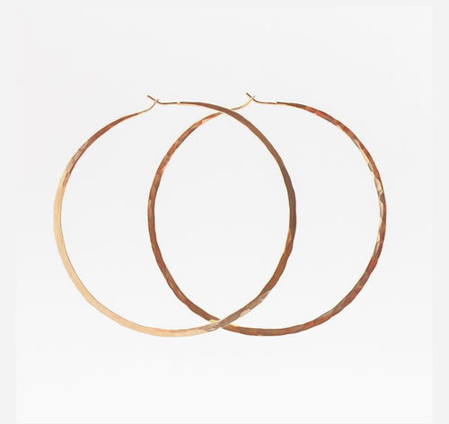 Clementine & co - XL Hoops yellow gold