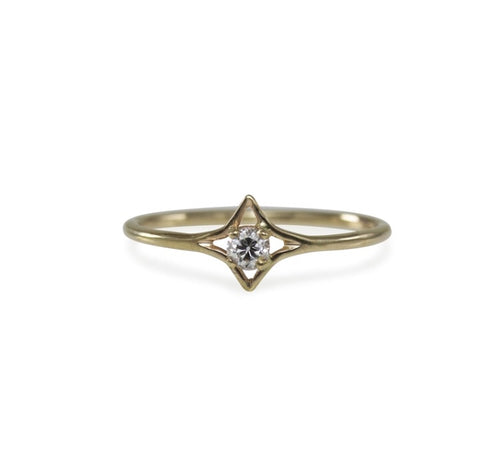 Luana Coonen - Small Celestial Diamond Ring