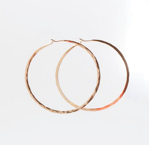 Clementine Jewelry - Rose Gold Hoop (Medium)