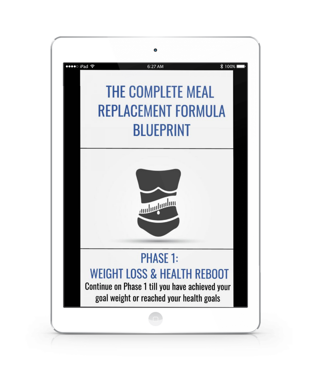 The Complete Meal Replacement Blueprint
