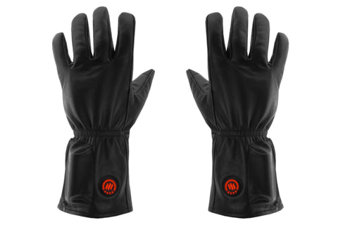 Keep those fingers warm with these comfortable black leather heated gloves or manage your Raynauds syndrome while keeping your circulation flowing