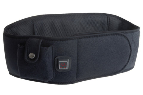 Keep your core warm with this black heated belt