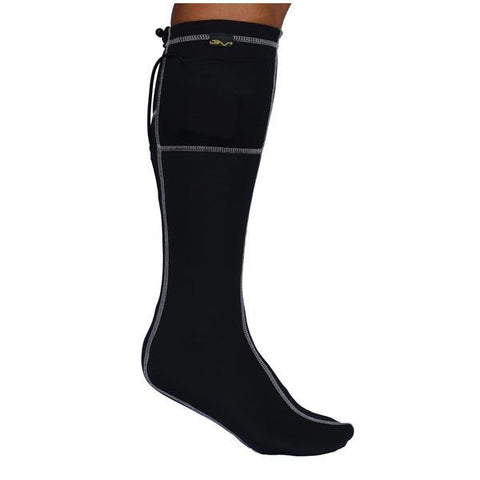 Black/Grey Heated Socks