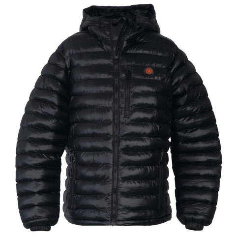 HEATED MEN'S JACKET - BLACK