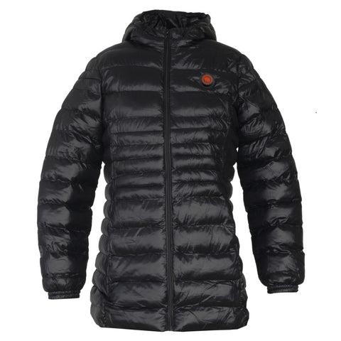 HEATED WOMEN'S JACKET - BLACK