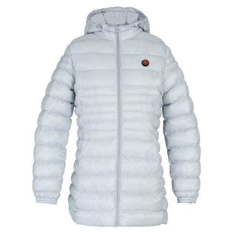 HEATED WOMEN'S JACKET - WHITE