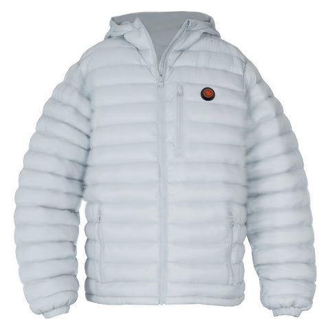 HEATED MEN'S JACKET - WHITE