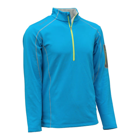 MEN'S THERMAL HALF-ZIP PULLOVER