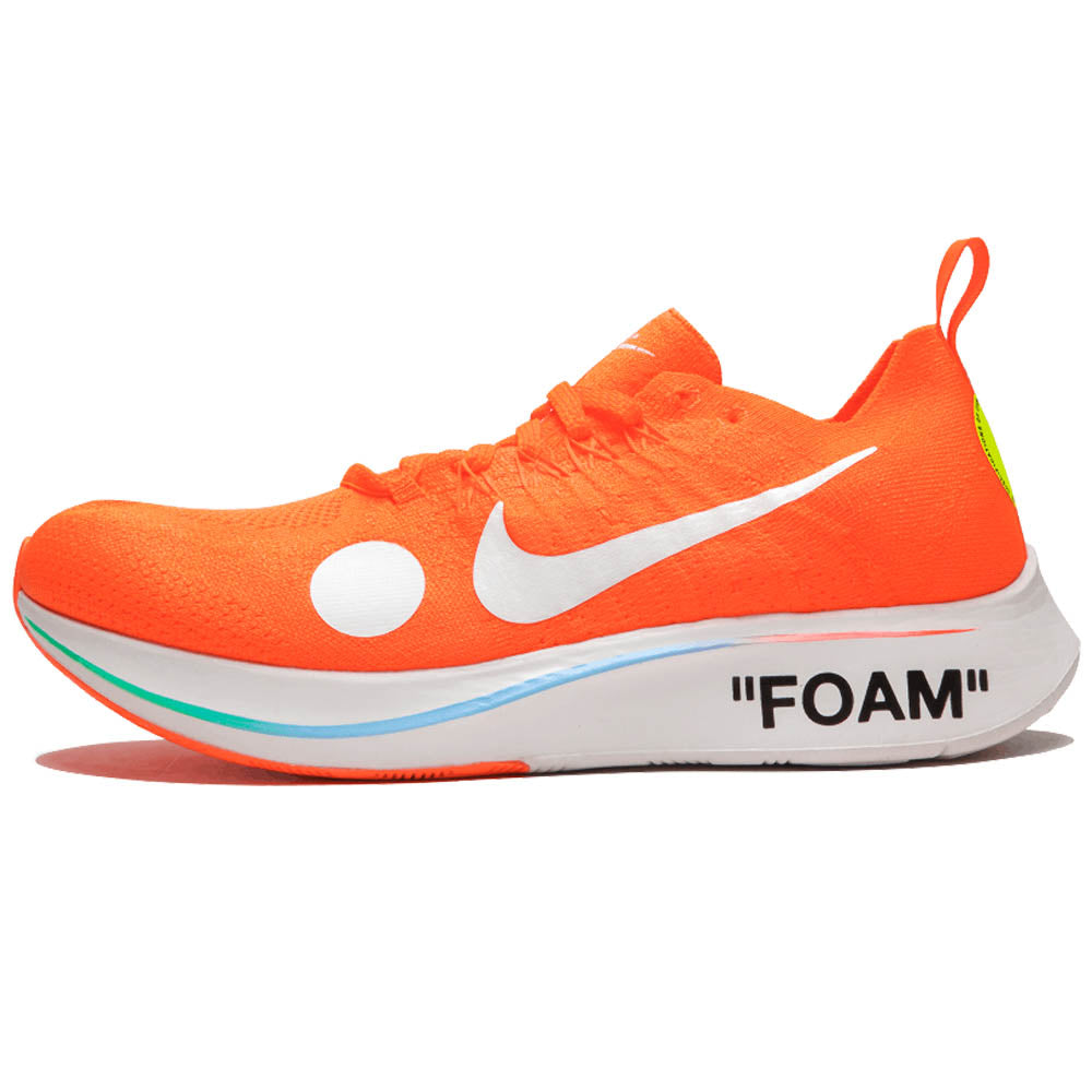 e4fc574d2a OFF-WHITE X NIKE ZOOM FLY MERCURIAL FLYKNIT 'TOTAL ORANGE' - CREED.