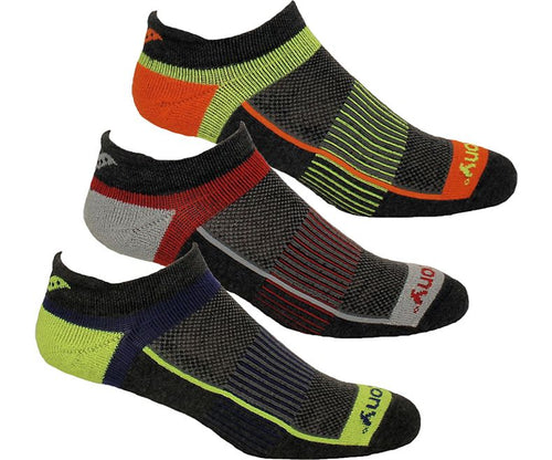 Saucony Inferno 3 Pack No Show Socks