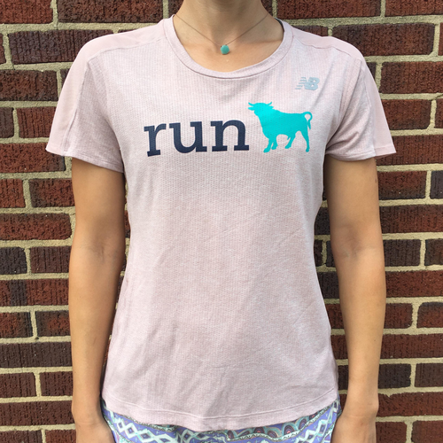 Women's New Balance Impact Run Bull Tee