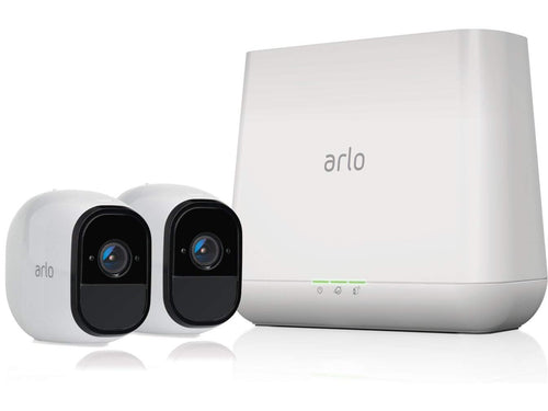 Arlo Pro - Wireless Home Security Camera System| Indoor/Outdoor | 2 camera kit