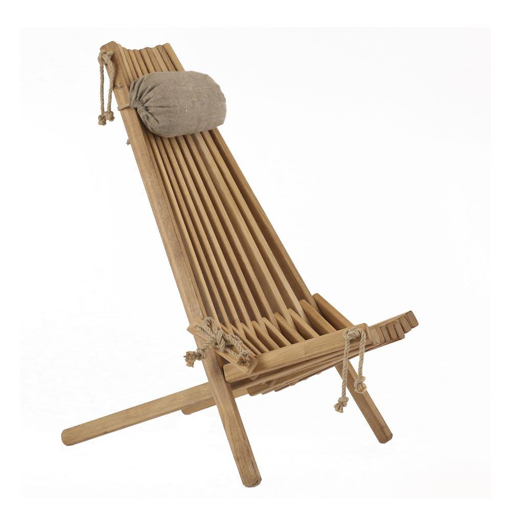 Eco Chair Oak - Wooden Outdoor Furniture - TANZ Products