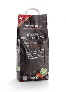 LotusGrill natural lump Charcoal- 2.5kg bag - TANZ Products Ltd