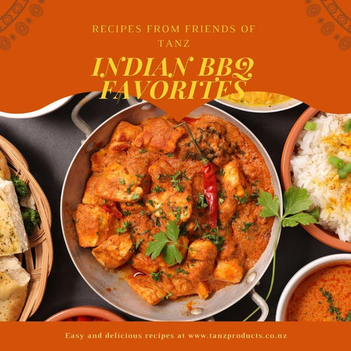TANZ Friends Indian Recipe Book - TANZ Products Limited