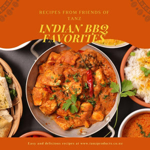 TANZ Friends Indian Recipe Book